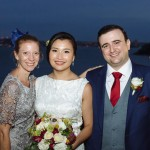The lovely Lishi and her Evan happilyhitchedbytheweddingpixie at sergeantsmess hellip