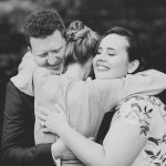 The hug never lies Anna and Adam at Gunners Barrackshellip