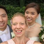 Congratulations Theresa and Dennis! happilyhitchedbytheweddingpixie yesterday at curzonhallnavarravenues with myhellip